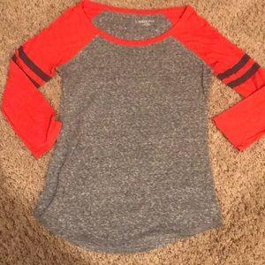 Merona XS Baseball style T-shirt
